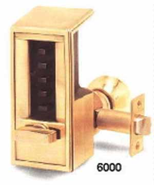 Access Control - Mechanical Kaba Pushbutton