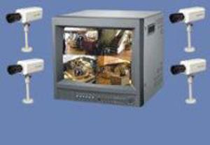 CCTV - Pvs-2/4- provideo system