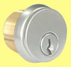 897B Brass Mortise Cylinder